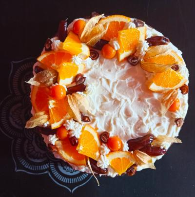 Datlovobanánový s pomerančem